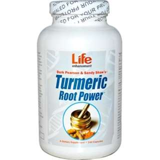 Life Enhancement, Turmeric Root Power, 240 Capsules