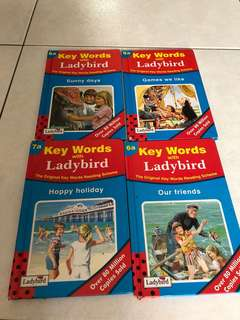 Lady bird story book