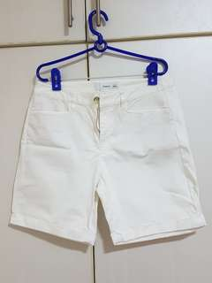 Bossini White Shorts