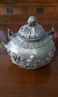 Bronze China Teapot