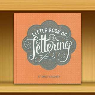 BN - Little Book of Lettering (Hardback / Hardcover) By Emily Gregory