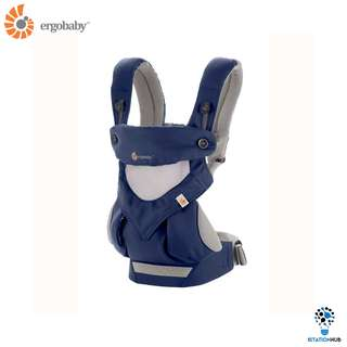 [Pre-Order] Ergobaby Four Position 360 Baby Carrier | Cool Air Frency Blue [BG-BC360PNAVY]
