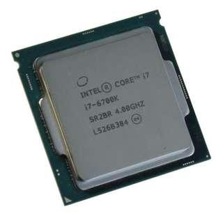 (二手) Intel® Core i7-6700K LGA1151 CPU 95%NEW