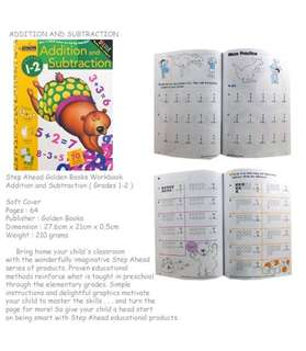 Step Ahead Golden Book Addition and Subtraction