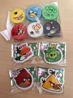 Angry birds stationery
