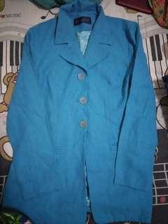 Jas / blazer biru muda