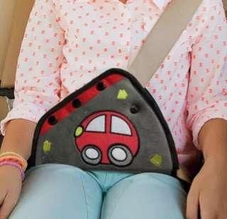 Kids safety belt adjustor
