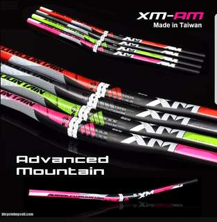 ***In-Stock =XM-AM Advanced Mountain Handlebar Heavy Loading Made in Taiwan Escooters MTB DH