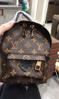 Lv mini back pack