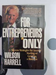 For Entrepreneurs Only