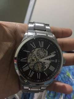 Jam Fossil Automatic Second