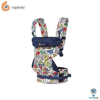 [Pre-Order] Ergobaby Four Position 360 Baby Carrier | Keith Haring Pop [BG-BC360AKHWHT]