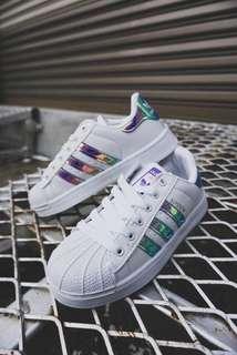 Adidas Superstar Purple Metallic