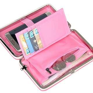 Korean Style Cute Pretty Long Wallet Phone Card Holder Purse