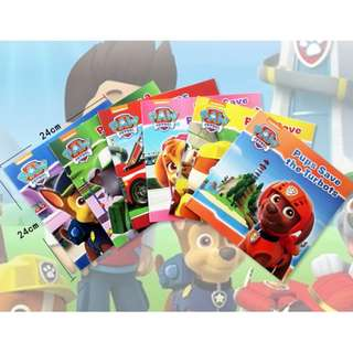 6 Books set – Nickelodeon PAW Patrol Pups Collection