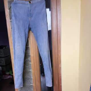 HW jeans light blue