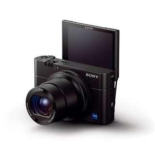 Sony RX100 IV Digital Camera. Sony Malaysia Warranty 15 Month. Free Sony 16gb Card, Extra Battery, Leather Pouch and Selfie Stick