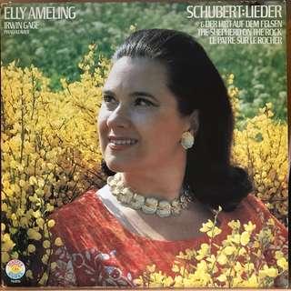 Elly Ameling sings Schubert Lieder CBS 76976