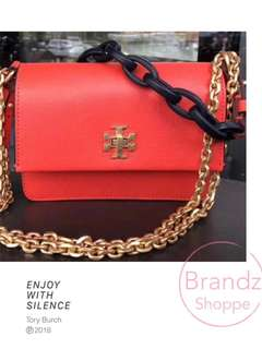 🎀Pre-RAYA Sale!!! 💯% Authentic Tory Burch Mini Kira Sling Bag (Red)