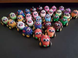 Handmade Air clay figurines