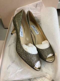 Jimmy Choo Shoes sz35.5 fit to 35.5-36.5 brand new with full set,no bargain