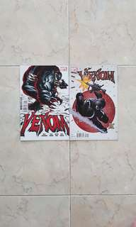 Venom Vol 2 (Marvel Comics 2 Issues, #1 and 2, both issues are rare and out of print)