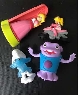 Assorted McD Happy Meal toys