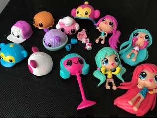 Kawaii Crush dolls & accessories