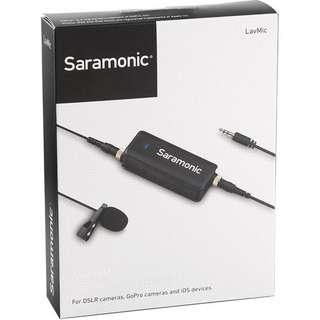 SaramonicLavMic Audio Mixer with Lavalier Microphone