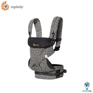 [Pre-Order] Ergobaby Four Position 360 Baby Carrier | Keith Haring Black [BG-BC360AKHBLK]