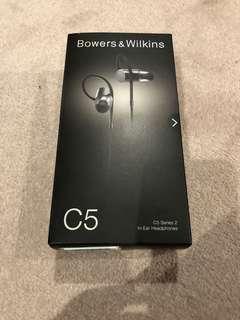 Bowers & Wilkins C5 Series 2 In-Ear Headphones