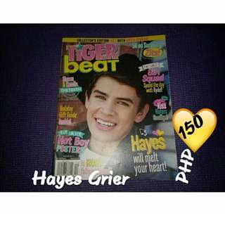 Hayes Grier Tiger Beat Magazine