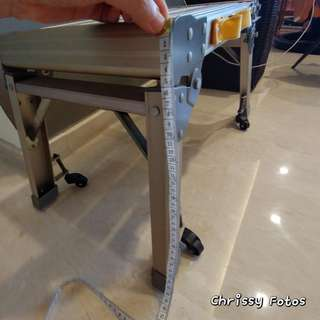 Foldable Ladder on wheels