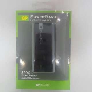 全新100% GP PowerBank 5200mAh 充電寶