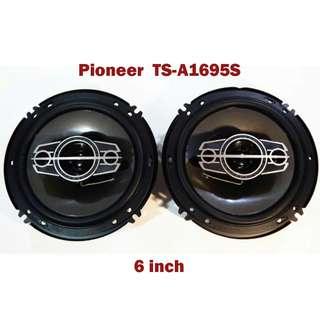 4 Way Pioneer Speaker TS-A1695S 6 Inch