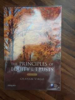 Virgo 2nd Ed Principles of Equity and Trusts