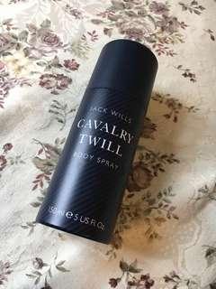 Jackwills body spray