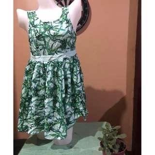nature designed mini dress