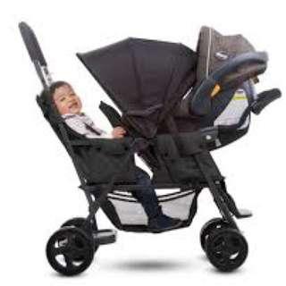 Joovy Caboose Ultralight Twin Stroller