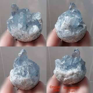Very Rare, nice natural Celestite(天青石) speciment.