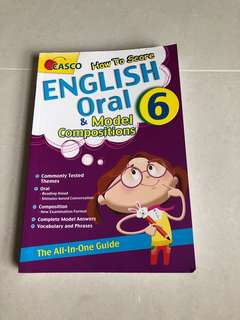 P6 English and oral book