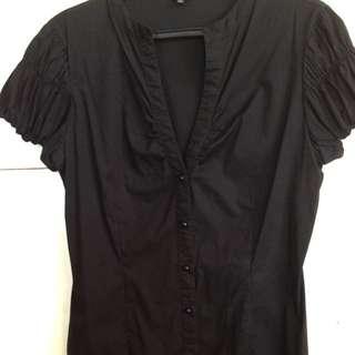 NEXUS Brand-Black Blouse