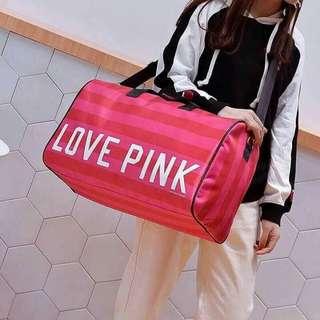 PINK traveling bag