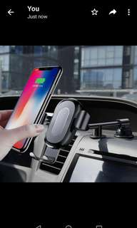 Baseus Heukji QI Wireless Charger Gravity Car Mount