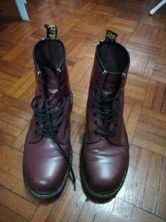 Dr Martens Boots 8uk Red Cherry