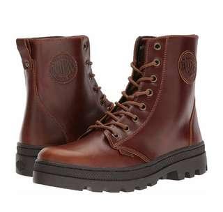 Palladium 中靴 Pallabosse Off Leather US9.5