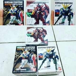 Gundam Coverge Wing series (set of 3)