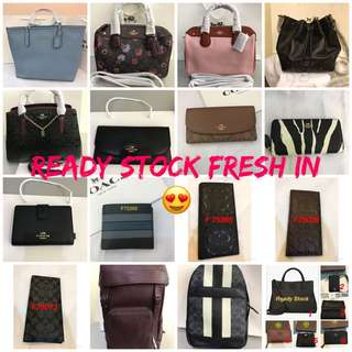 Original coach Tory Burch Kate Spade furla Guess bonia Wallet shi Bag Laptop bag computer bag guess