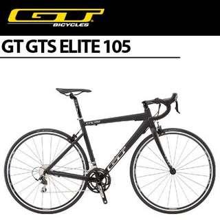 GTs elite roadbike 105
