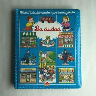 La cuidad, Mini diccionario por imágenes Spanish book